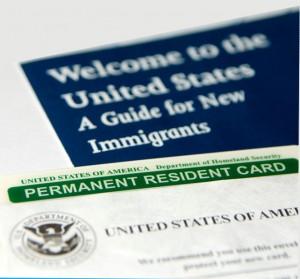 Estados Unidos folleto de la inmigración
